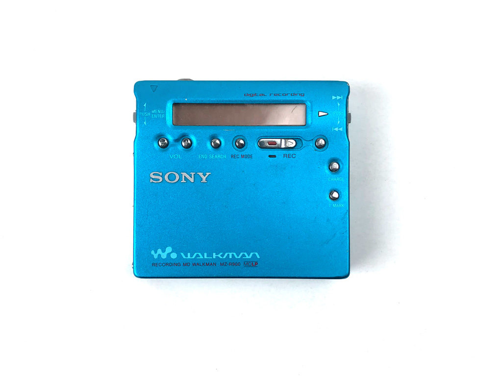 Fragment 0001 - Sony Mini Disc Player