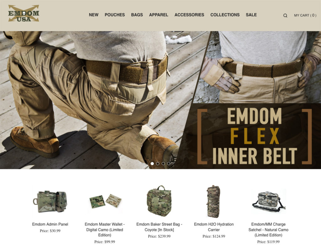Don Sham Portfolio - Emdom USA Web Design