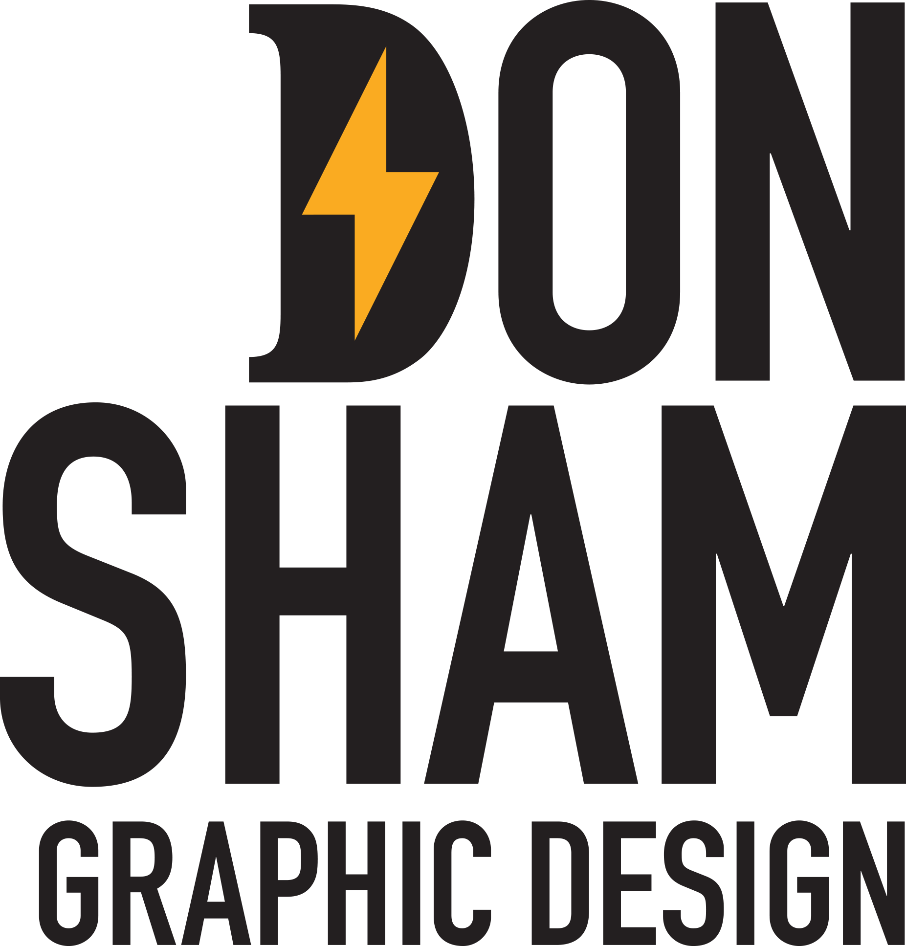 Don Sham Graphic Design Logo
