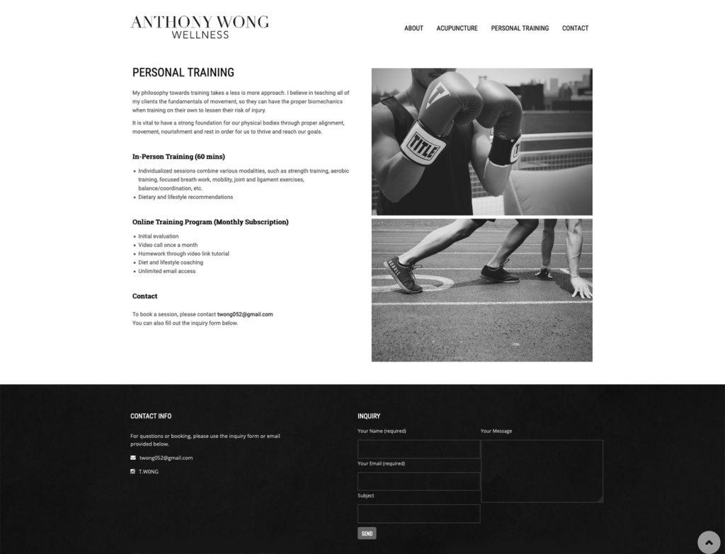 Anthony Wong Wellness