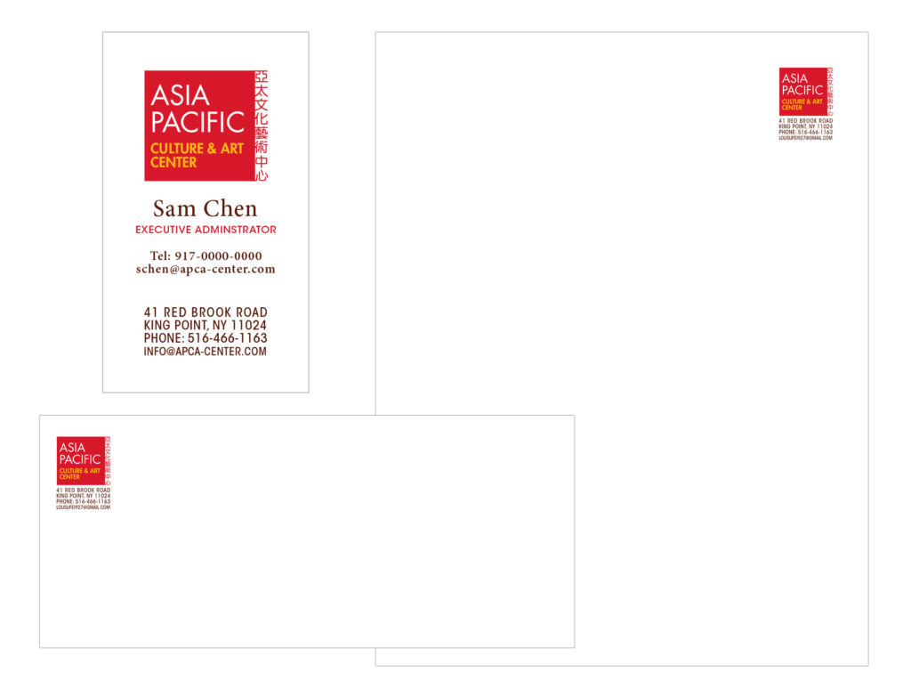 APCAC Stationery Design